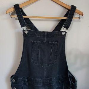 Old Navy black overalls
